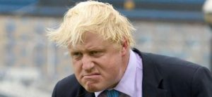 Boris Johnson Grumpy