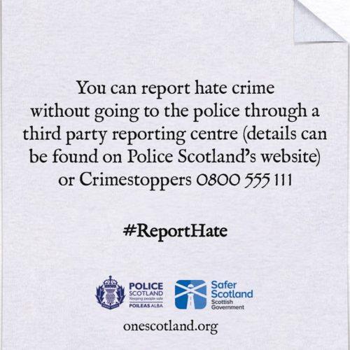 Police Hate Crime